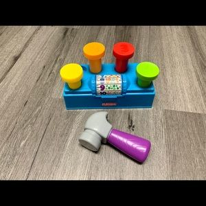 Playskool tap 'n spin tool bench